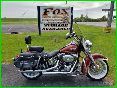 2009 Harley-Davidson Softail Heritage Classic Red Hot Sunglo for sale craigslist