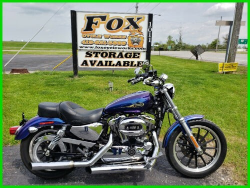 2009 Harley-Davidson Sportster 1200 Low Black Ice Pearl for sale