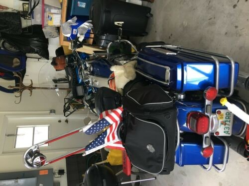 2009 Harley-Davidson Touring Blue for sale