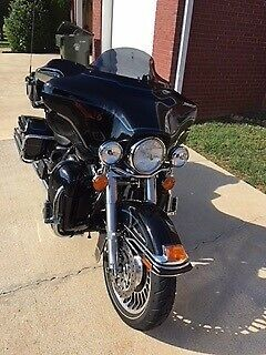 2009 Harley-Davidson Touring Blue for sale craigslist