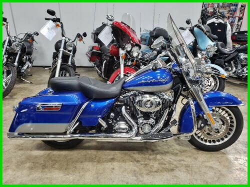 2009 Harley-Davidson Touring Road King Flame Blue Pearl / Pewter Pearl craigslist