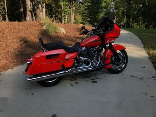 2009 Harley-Davidson Touring Orange for sale