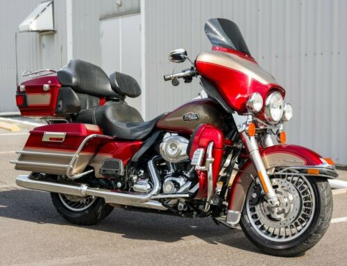 2009 Harley-Davidson Touring Red Hot Sunglo/Smokey Gold for sale