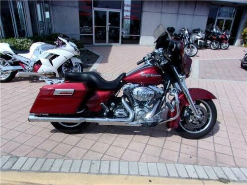 2009 Harley-Davidson Touring -- Red for sale craigslist