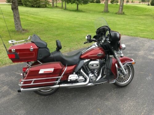 2009 Harley-Davidson Touring Red for sale craigslist