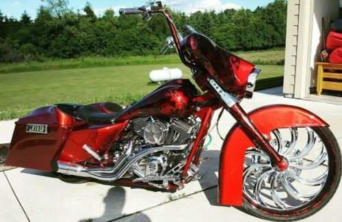 2009 Harley-Davidson Touring Red for sale