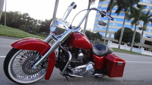 2009 Harley-Davidson Touring CUSTOMIZED- CHROMED Red for sale