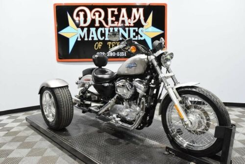 2009 Harley-Davidson XL883L - Sportster 883 Low Trike -- Pewter Pearl with Pinstripes for sale craigslist