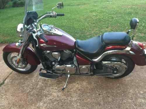 2009 Kawasaki Vulcan Burgundy for sale