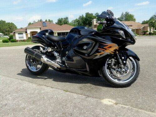 2009 Suzuki Hayabusa -- Black for sale