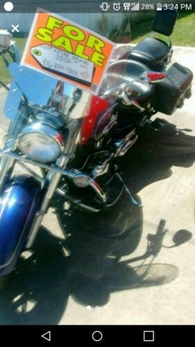 2009 Yamaha VStar Blue for sale craigslist