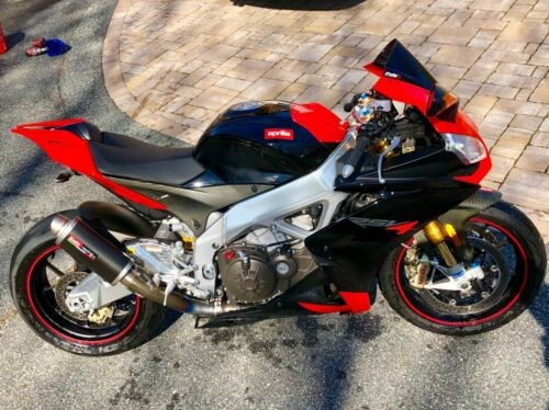 2010 Aprilia RSV4 FACTORY Red Black for sale craigslist