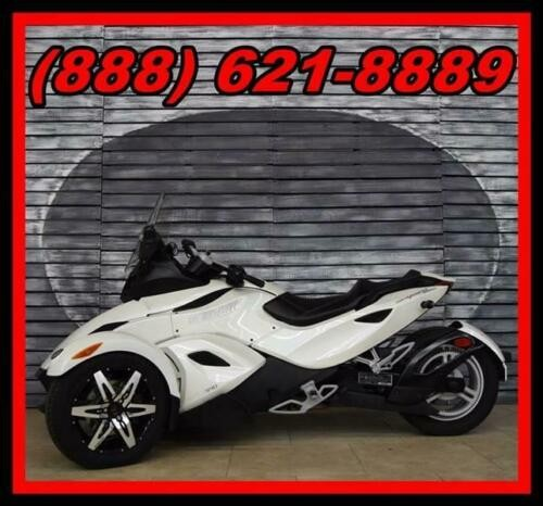 2010 Can-Am Spyder RS-S SE5 White for sale craigslist