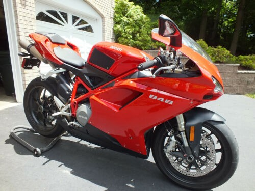 2010 Ducati 848 Red craigslist
