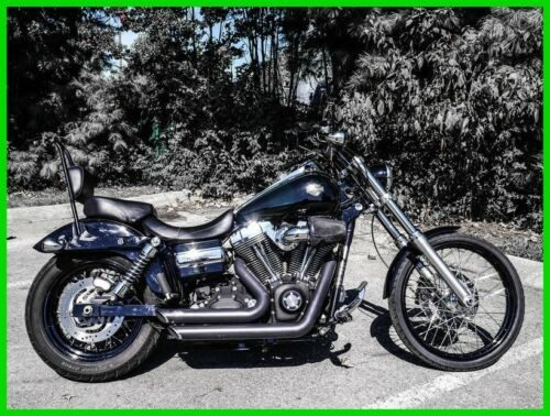 2010 Harley-Davidson Dyna VIVID BLACK for sale craigslist