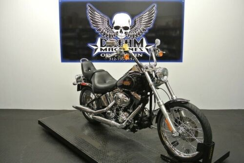 2010 Harley-Davidson FXSTC - Softail Custom -- Black for sale craigslist