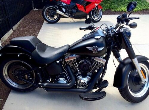 2010 Harley-Davidson Softail Black for sale