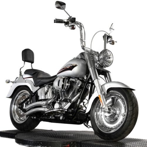 2010 Harley-Davidson Softail Brilliant Silver Pearl for sale craigslist