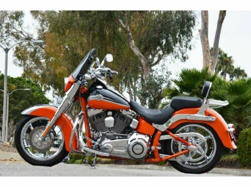 2010 Harley-Davidson Softail Orange Black Silver for sale craigslist
