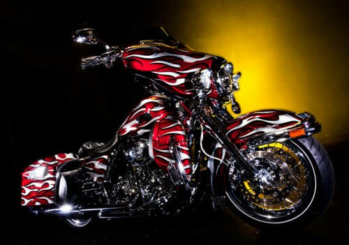 2010 Harley-Davidson Touring Red Hot Sunglo - Custom Flame for sale
