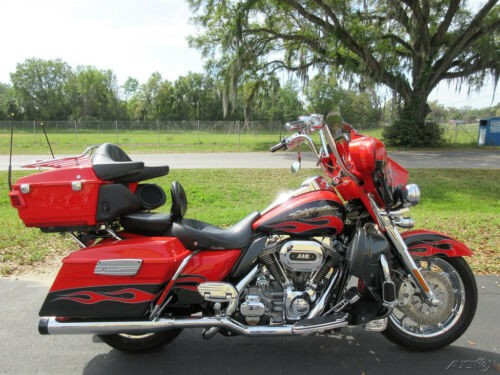 2010 Harley-Davidson Touring Electra Glide® CVO™ Ultra Classic® Red craigslist