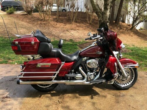 2010 Harley-Davidson Touring Red for sale craigslist