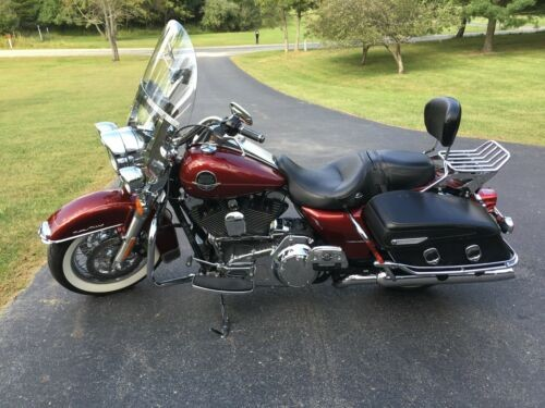 2010 Harley-Davidson Touring Sunglow Red for sale