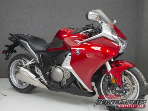 2010 Honda Interceptor CANDY PROMINENCE RED for sale