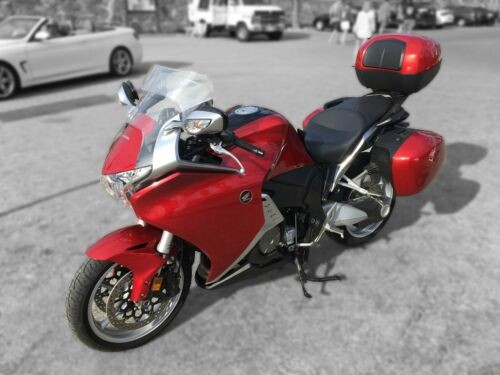 2010 Honda VFR1200F Red for sale craigslist