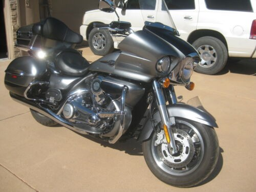 2010 Kawasaki Vulcan Gray/royal blue for sale