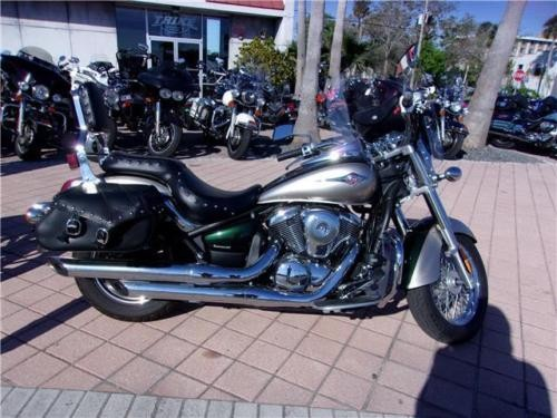 2010 Kawasaki Vulcan -- Green for sale
