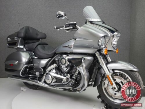 2010 Kawasaki Vulcan Vn1700 Voyager METALLIC MOONDUST GRAY/METALLIC MIDNIGHT SAPPHIRE for sale