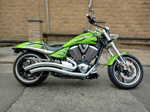 2010 Victory Hammer Green for sale craigslist