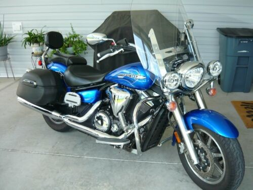 2010 Yamaha V Star Blue for sale