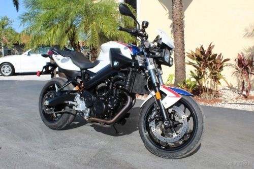 2011 BMW F-Series 800 R 3k Miles Florida Motorcycle White/Blue for sale craigslist