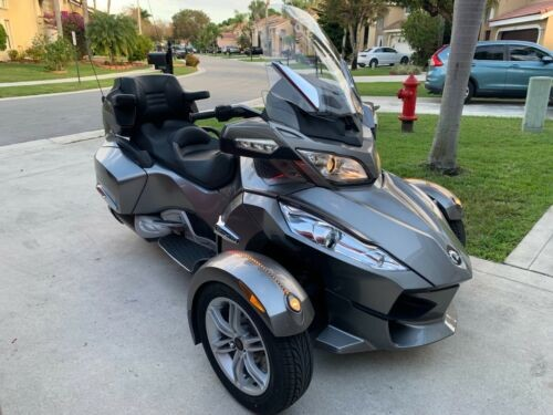 2011 Can-Am SPYDER RT Limited SE5 Silver for sale craigslist