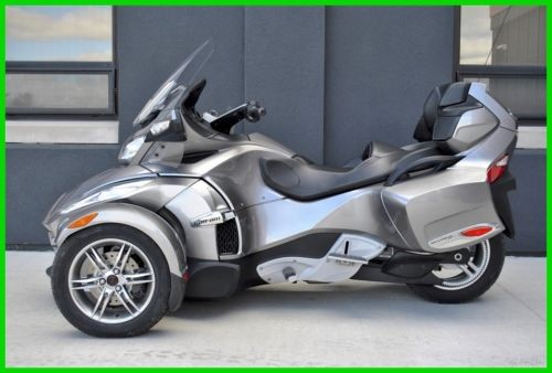 2011 Can-Am SPYDER RT-S SE5 (5 sp Electric Shift) - Exception RT Silver for sale craigslist