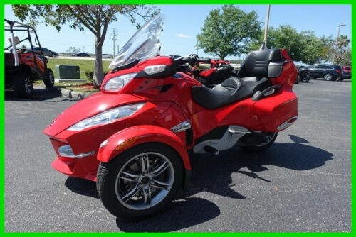 2011 Can-Am Spyder RT-S SE5 Red craigslist