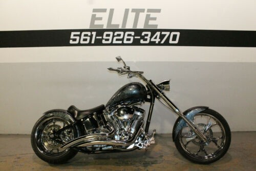 2011 Custom Built Motorcycles Chopper Gray for sale craigslist
