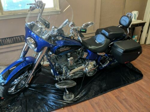 2011 Harley-Davidson CVO Softail convertible Blue for sale craigslist