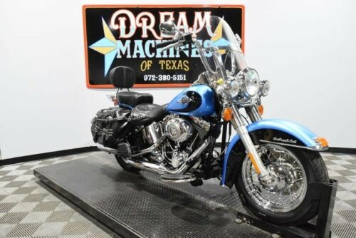 2011 Harley-Davidson FLSTC - Heritage Softail Classic -- Blue for sale