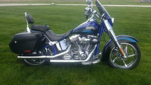 2011 Harley-Davidson FLSTSE2 - CVO™ Softail® Convertible -- Blue for sale craigslist
