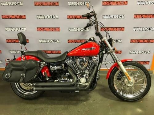 2011 Harley-Davidson FXDC - Dyna® Super Glide® Custom -- Red for sale craigslist