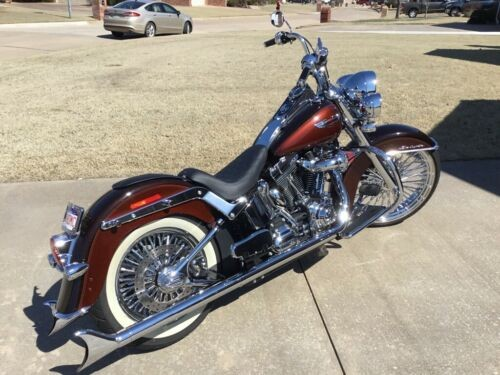 2011 Harley-Davidson Softail Deluxe Root Beer for sale