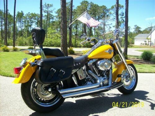 2011 Harley-Davidson Softail Chrome Yellow for sale