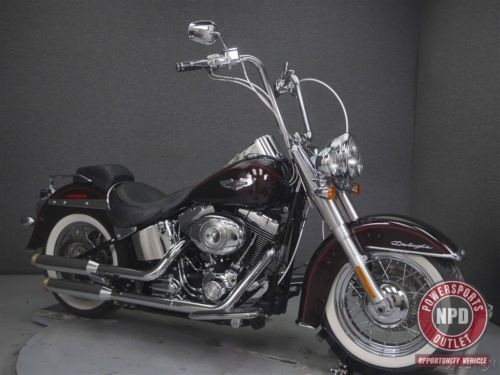2011 Harley-Davidson Softail FLSTN DELUXE MAROON SUNGLOW for sale craigslist