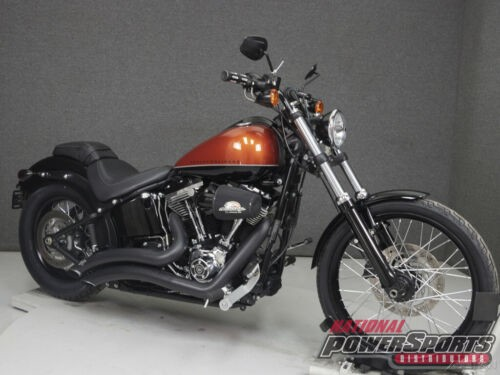 2011 Harley-Davidson Softail FXS BLACKLINE SEDONA ORANGE/VIVID BLACK for sale craigslist