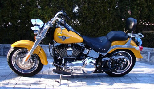 2011 Harley-Davidson Softail Yellow for sale