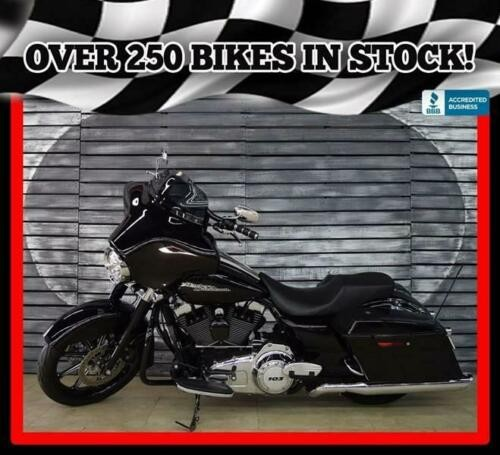 2011 Harley-Davidson Street Glide Salvage Title Black for sale