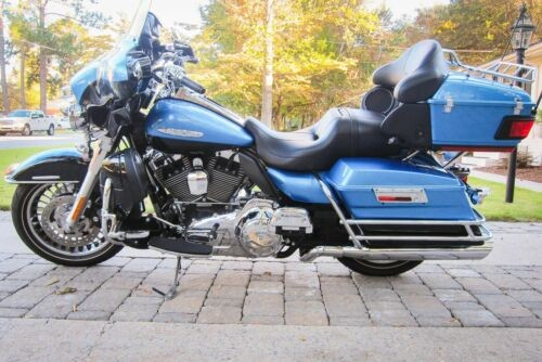 2011 Harley-Davidson Touring Blue for sale craigslist
